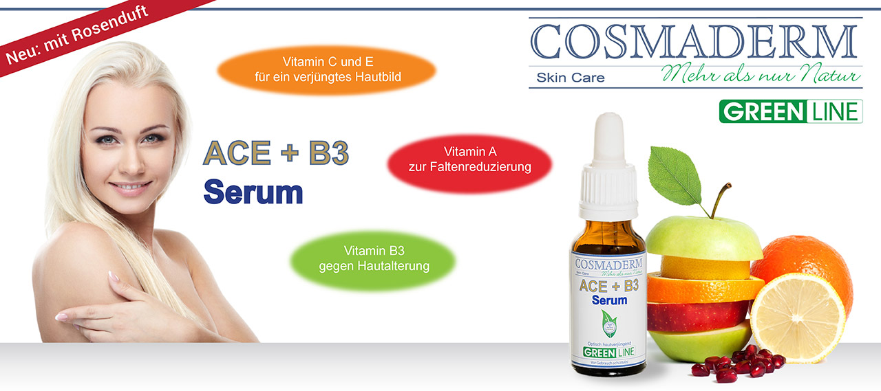 Cosmaderm Vitamin ACE Serum